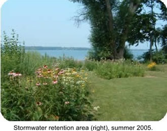 Photo Natural Shoreline Stormwater retention area